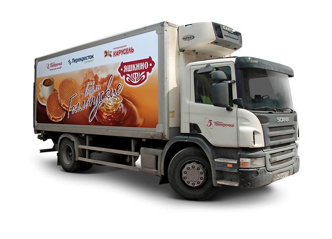 Реклама на транспорте - изображение